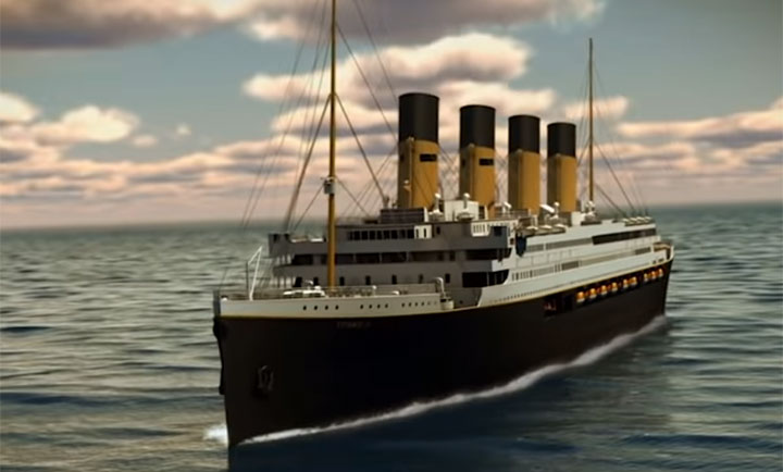 "A replica of the ill-fated ship Titanic is set to sail in 2022, following the same route as the original ship, while boasting of a ""true authentic Titanic experience.""."