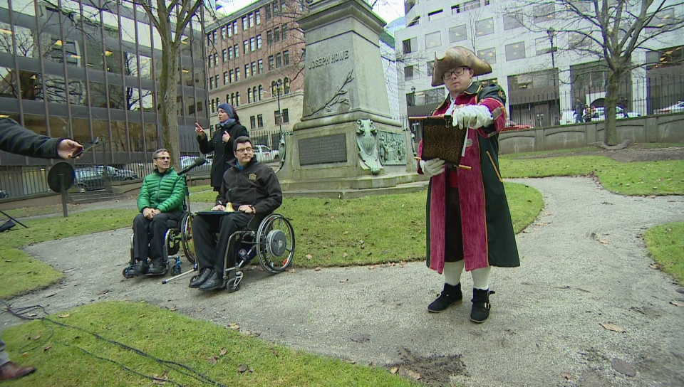 Will Brewer, a Halifax man living with Down syndrome, was presented with an Honourary membership to the Ontario Guild of Town Criers at a meeting of Halifax Regional Council on Oct. 30, 2018.