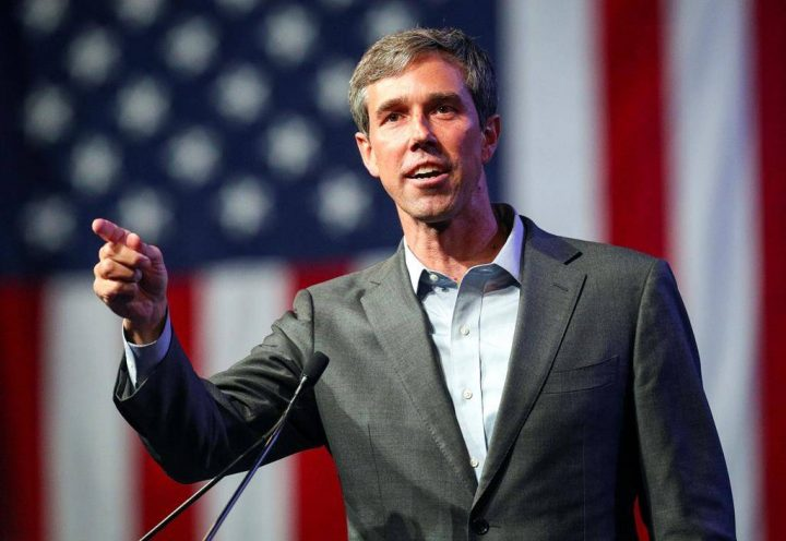 FILE - In this June 22, 2018, file photo, Beto O'Rourke speaks during the general session at the Texas Democratic Convention in Fort Worth, Texas.