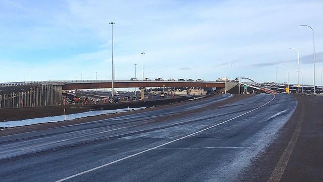 Alberta Transportation said the Highway 2 Gaetz Avenue interchange in Red Deer was open to traffic Nov. 19, 2018.