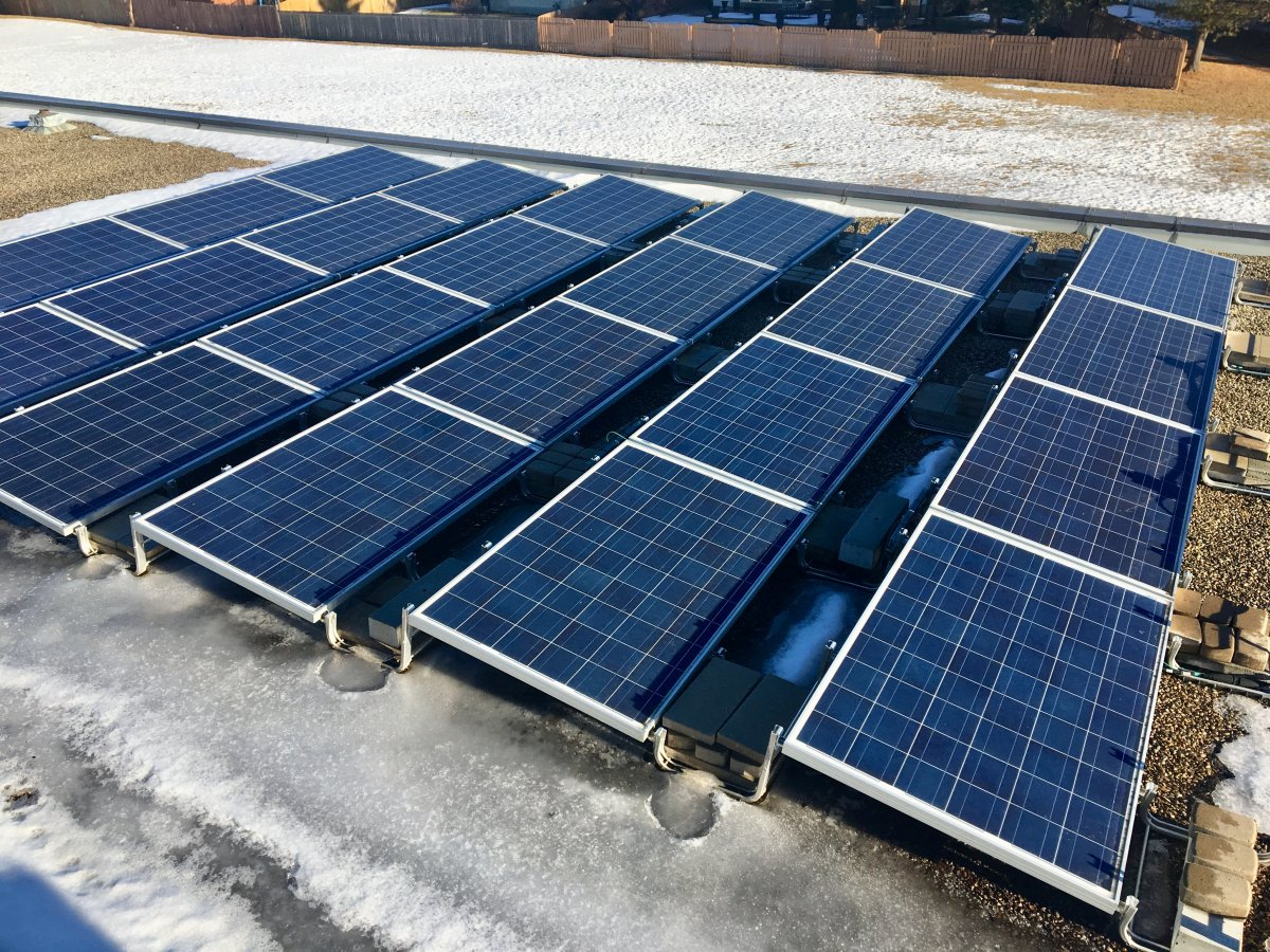 The federal government has announced funding for a solar energy project in the province.