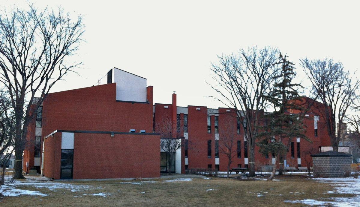 Winnipeg School Division administration building.