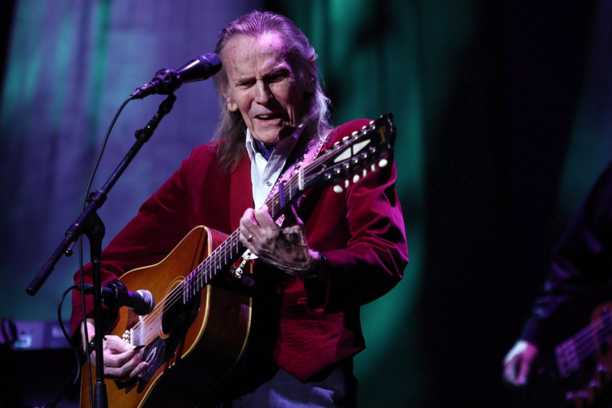 Legendary singer-songwriter Gordon Lightfoot performs his classic hits at the McPherson Playhouse in Victoria, B.C., Oct. 23, 2017.