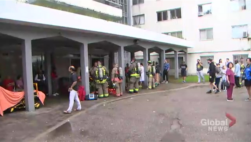Residents of 650 Parliament Street have been displaced since a fire broke out at the building on Aug. 21.