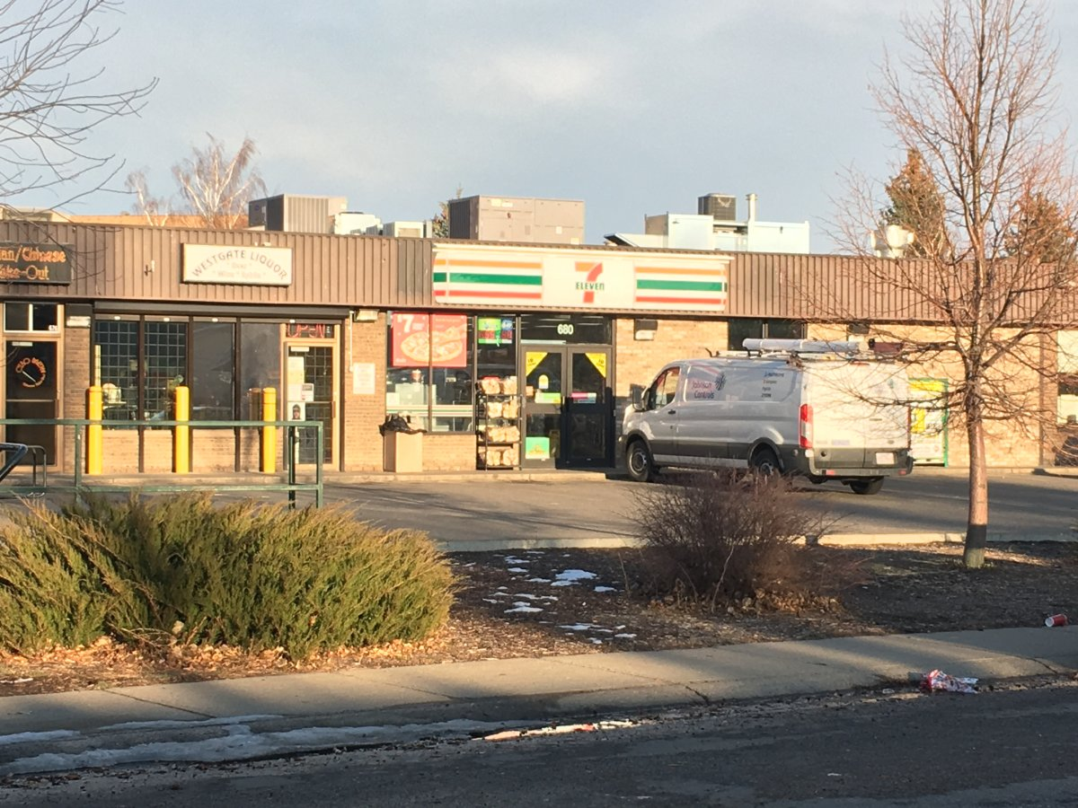 A man is facing charges following an incident at a 7-Eleven store in west Lethbridge on Monday.