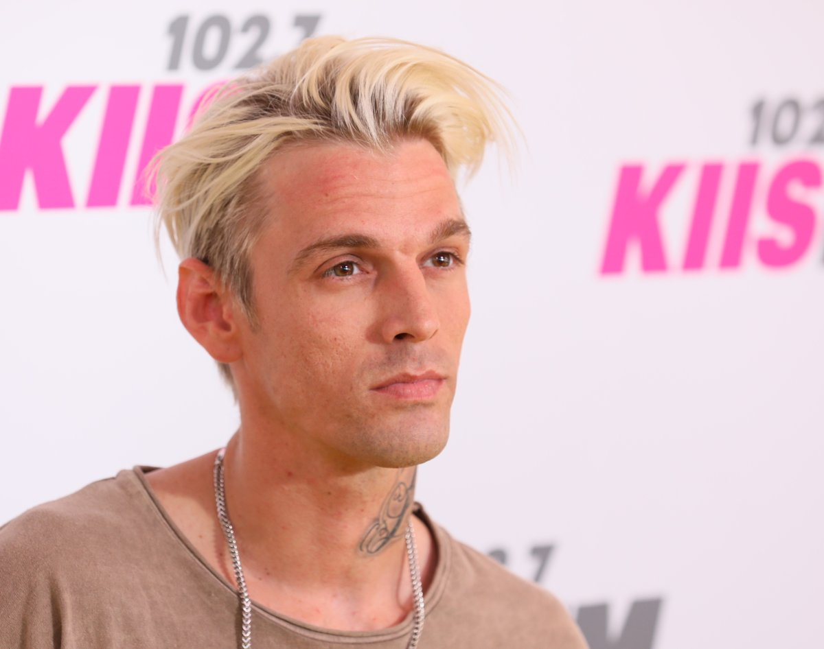 Aaron Carter attends the 'Wango Tango' on May 13, 2017, in Carson, Calif.