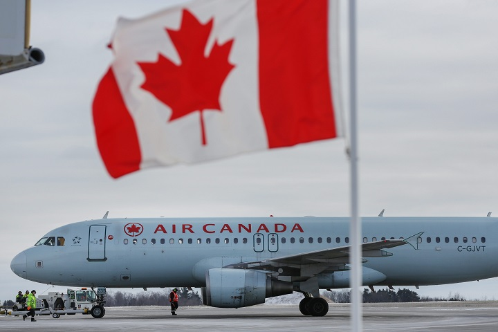Air Canada's direct flights on the Montreal-Hamilton route will scale down to once daily from three as of Jan. 9, and stop completely after March 30.