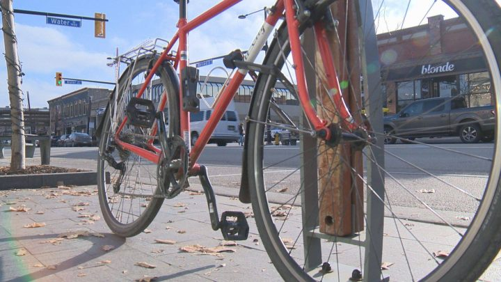 Regina police are hoping residents in Regina will register their bikes with an online registry they've partnered with to lower bike thefts across the city.