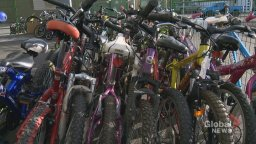 Continue reading: Thieves steal donated bicycles from Bow Cycle's Bikes for Kids campaign in Calgary