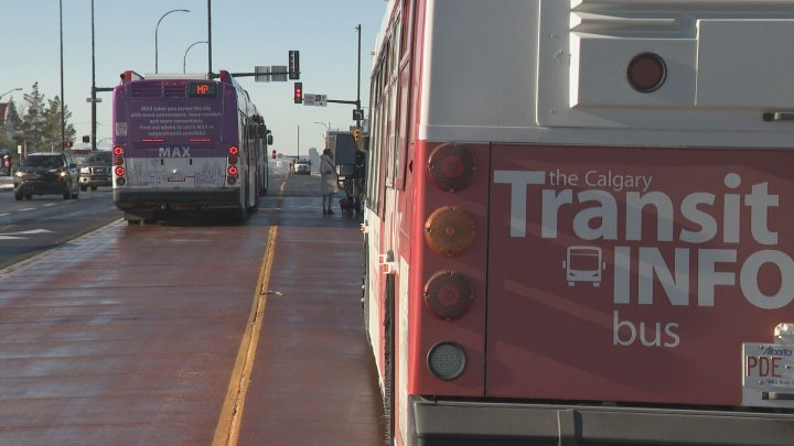 Calgary Transit launched three new Bus Rapid Transit (BRT) lines on Nov. 19, 2018.