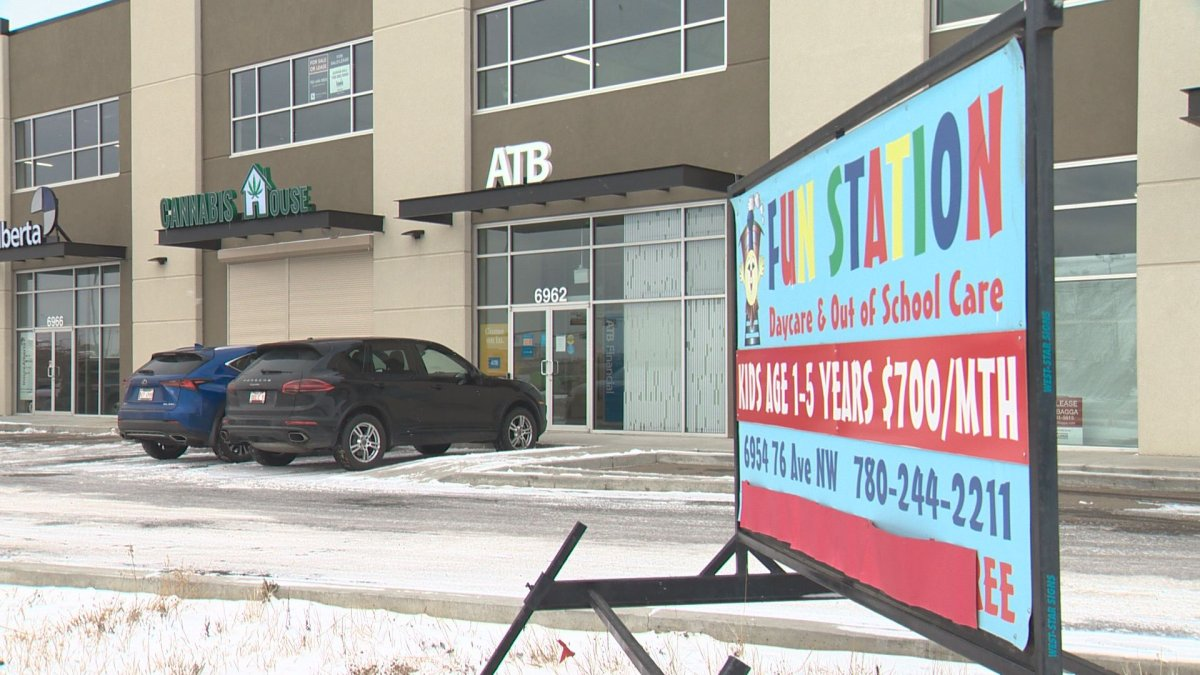 Cannabis House, an Edmonton cannabis retailer, is ready to open in the same complex as a daycare. The city is now investigating the approval process.