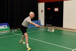 """Continue reading: """"Until my last day, ideally'; 90-year-old retired doctor honoured for his devotion to badminton"""