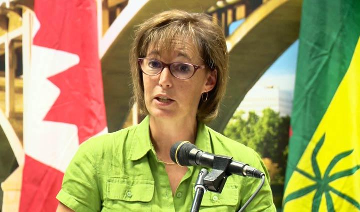 The City of Saskatoon's director of environmental services, Brenda Wallace, was recently let go.