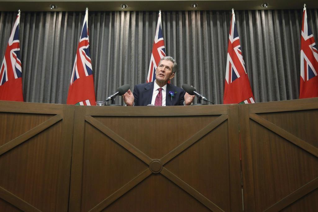 Manitoba Premier Brian Pallister.