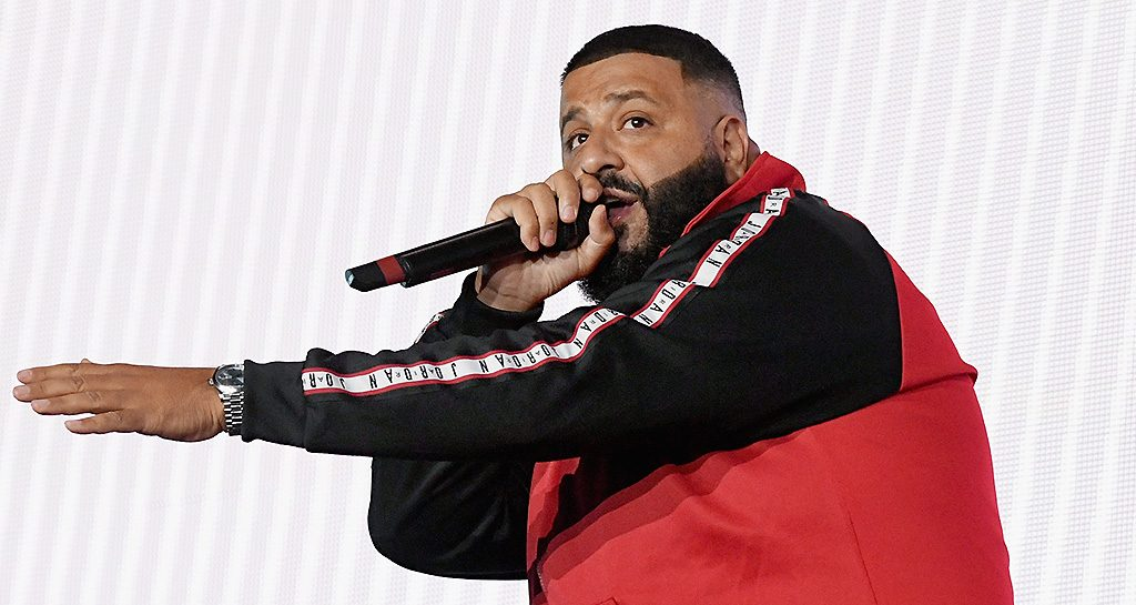 DJ Khaled performs onstage during the 'On The Run II' Tour at Rose Bowl on September 22, 2018 in Pasadena, Calif.
