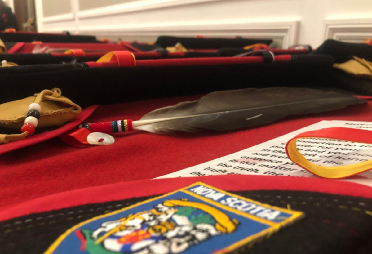"""Chief Paul Prosper of the Assembly of Nova Scotia Mi'kmaq Chiefs says the eagle feather is """"a sacred part"""" of Indigenous spirituality."""