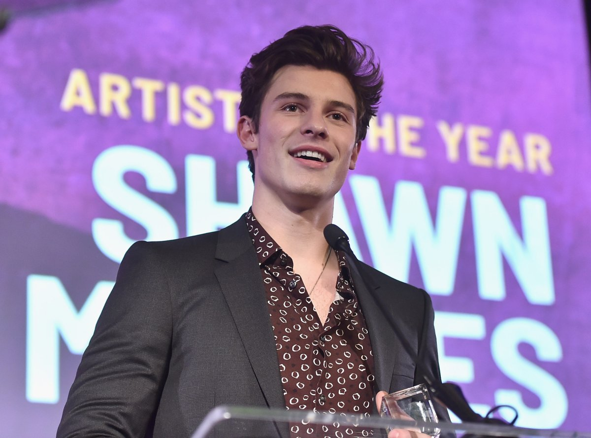 Pop star Shawn Mendes attends the Billboard 2018 Live Music Awards at Montage Beverly Hills on Nov. 13, 2018 in Beverly Hills, Calif.