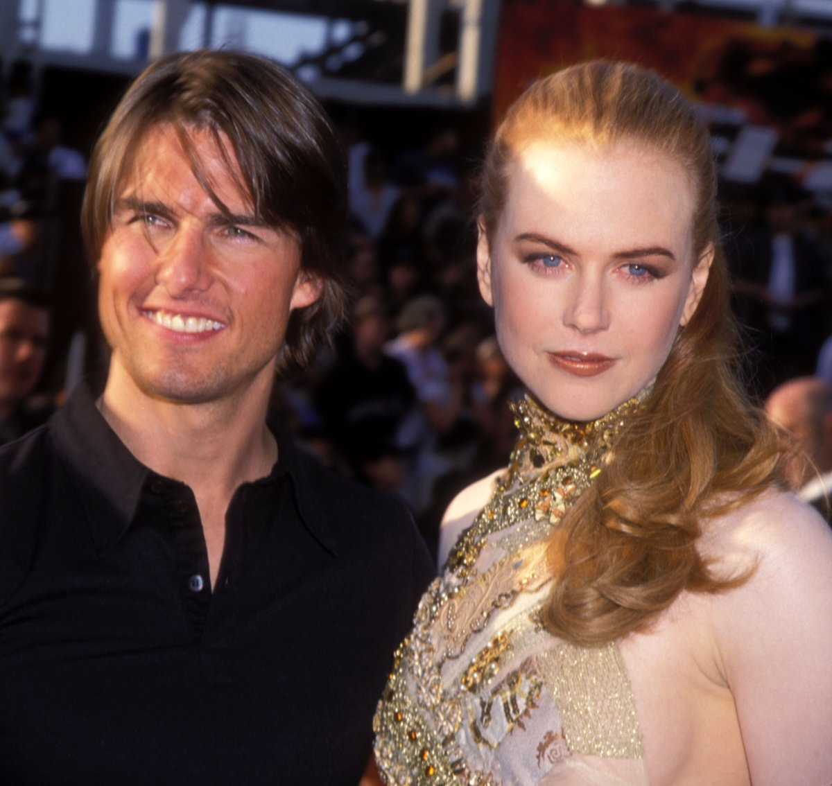 Tom Cruise and Nicole Kidman during 'Mission: Impossible 2' Los Angeles Premiere at Mann Chinese Theatre in Hollywood, California, United States.