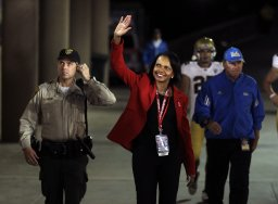 Continue reading: Cleveland Browns GM denies team has discussed Condoleezza Rice as its next head coach