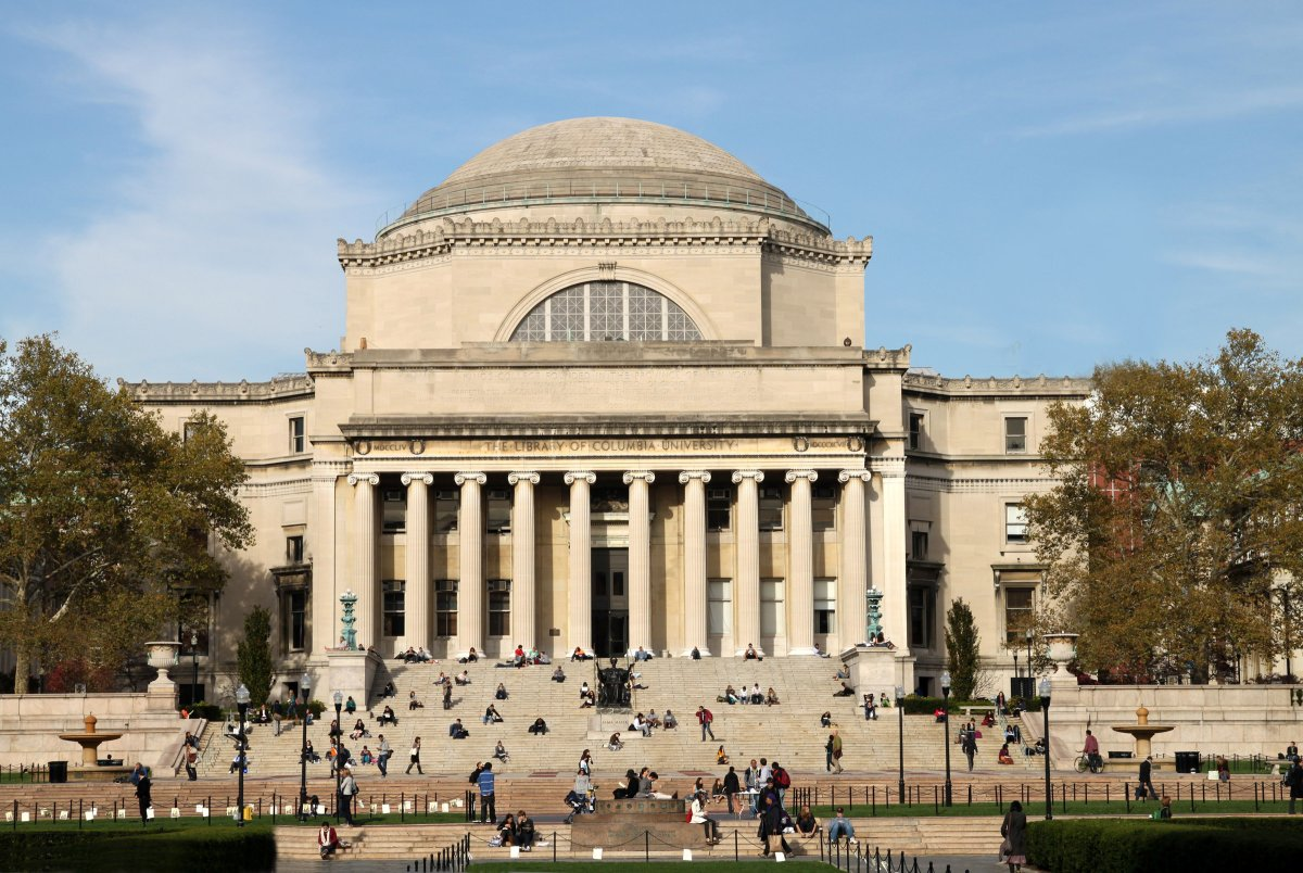 Classical style library that's the best known symbol of Manhattan's Ivy League university.