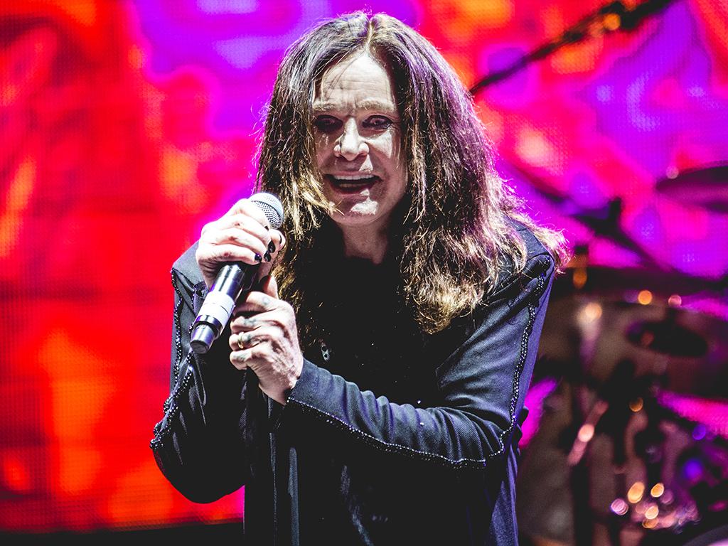 Ozzy Osbourne, of Black Sabbath, in concert at the Verona Arena in Verona, Italy, on June 13, 2016.