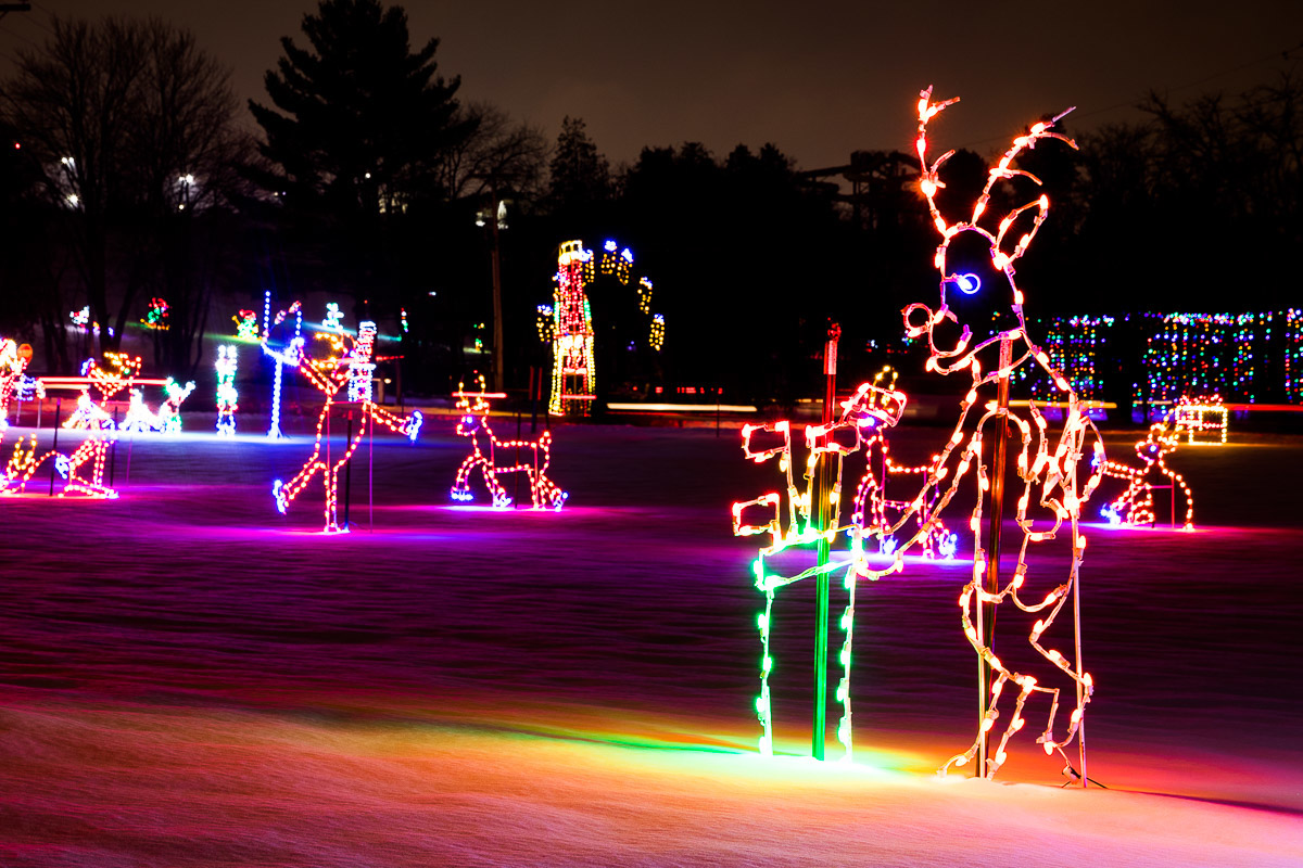 Sunday will provide your only opportunity to walk through the Gift of Lights.