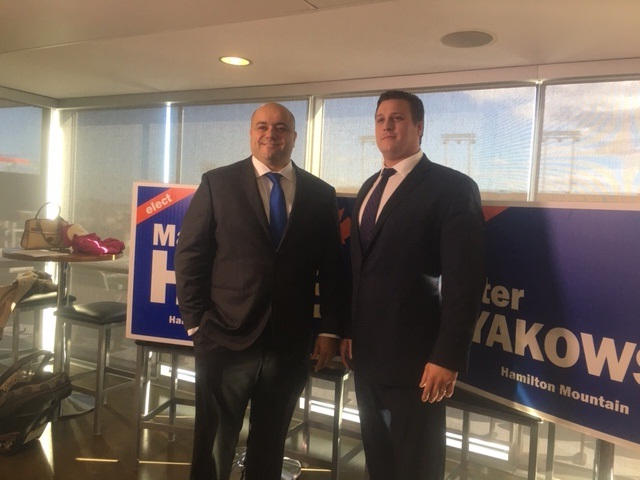 Marwan Hage and Peter Dyakowski hope the represent Hamilton as federal members of parliament.