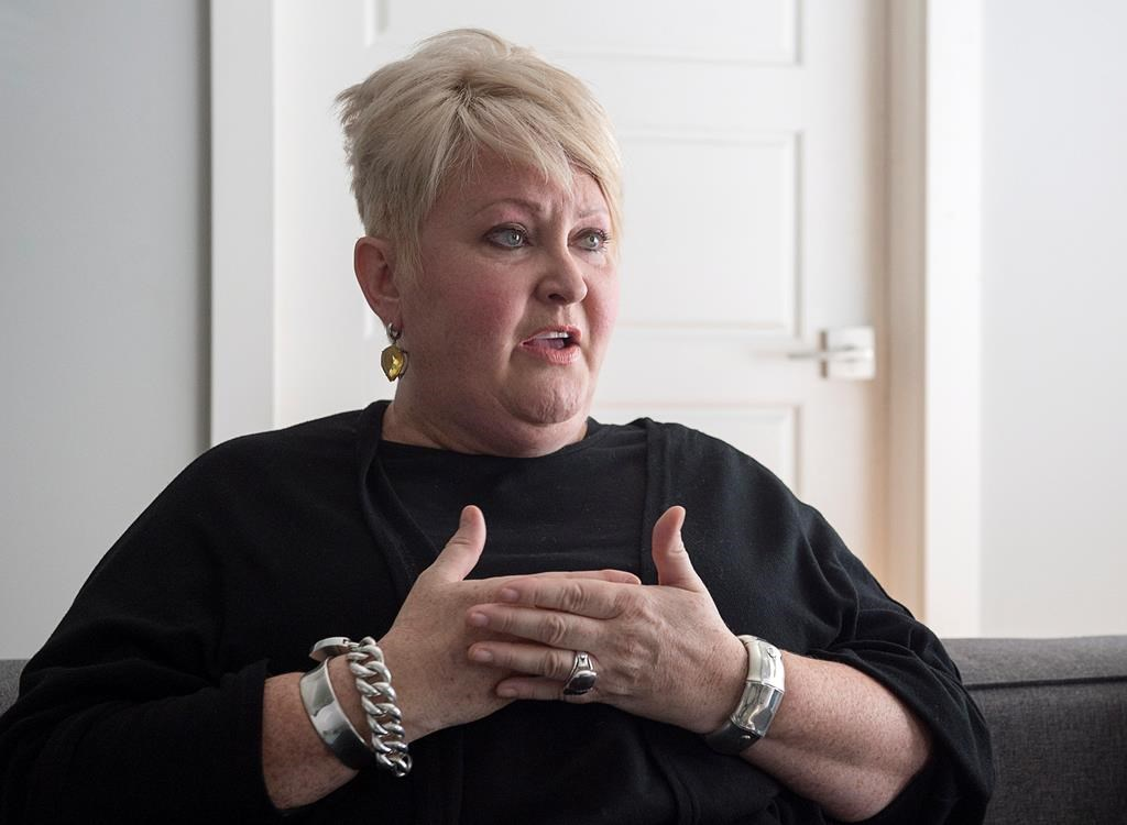 Audrey Parker, diagnosed with stage-four breast cancer which had metastasized to her bones and has a tumour on her brain, talks about life and death at her home in Halifax on Tuesday, Oct. 23, 2018. Parker, who is terminally ill and plans to end her life Thursday with medical assistance, says she has embraced her fate, sought the comfort of friends and wasted no time feeling sorry for herself in the two years since her diagnosis.
