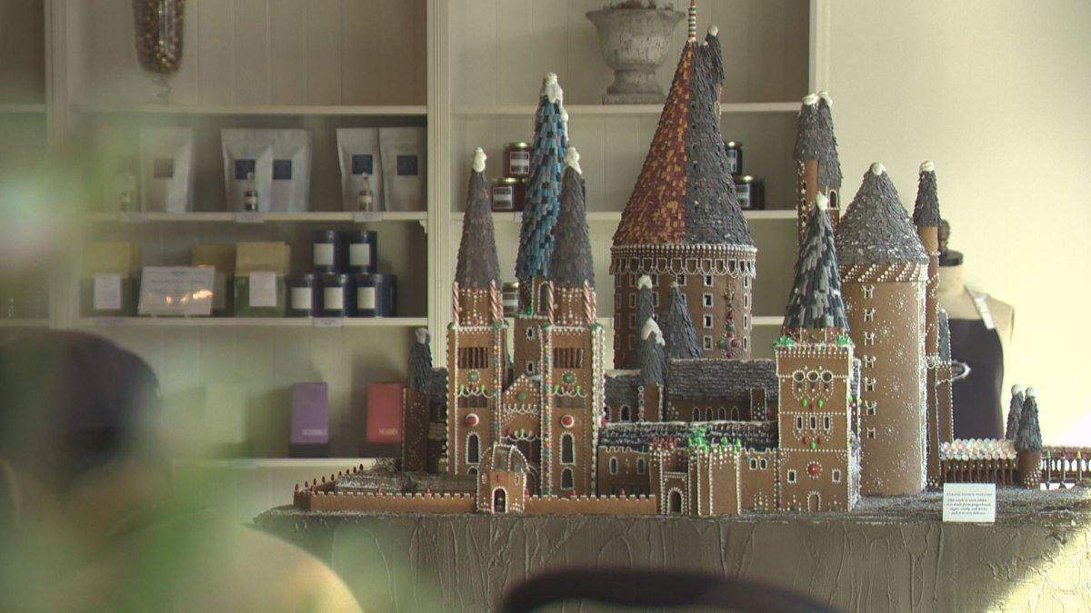 Edmonton's Duchess Bakeshop created a replica Hogwarts castle.