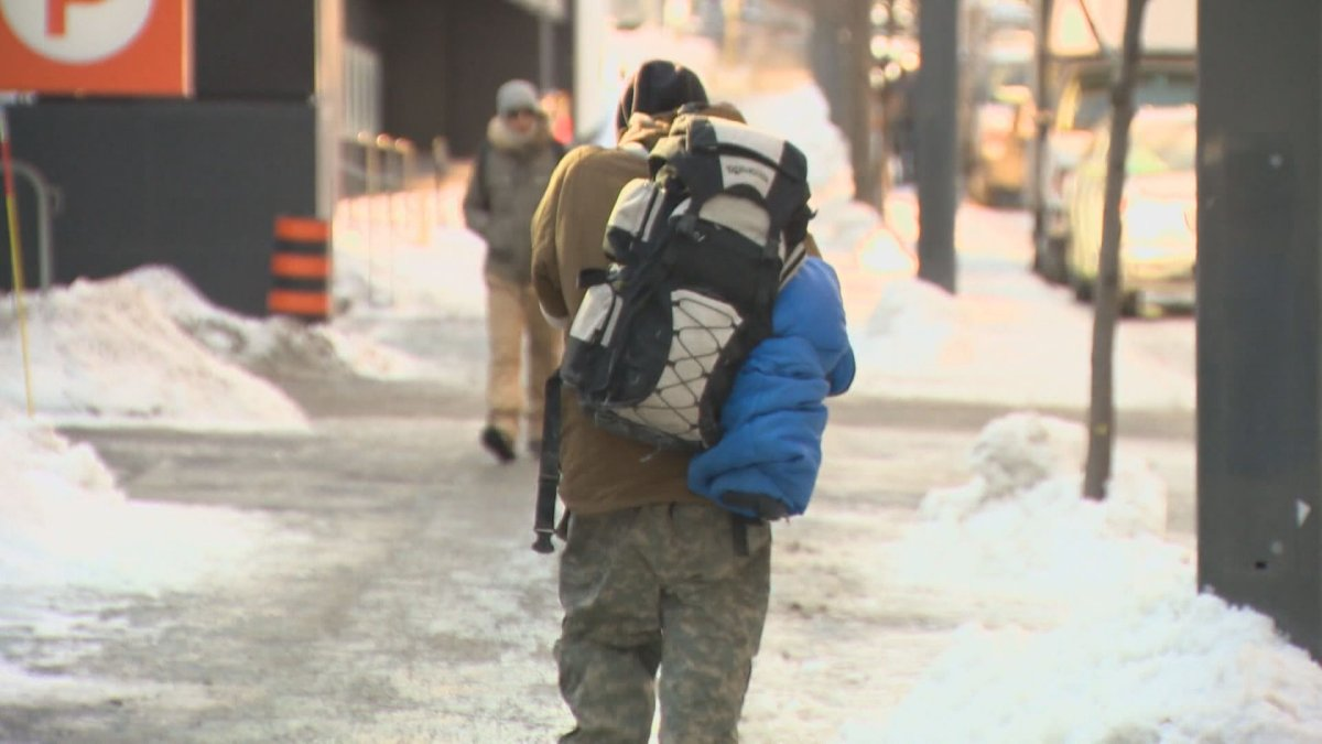 A Quebec Superior Court Judge has ruled to exempt people experiencing homelessness from Quebec's curfew. Tuesday, Jan. 26, 2021.