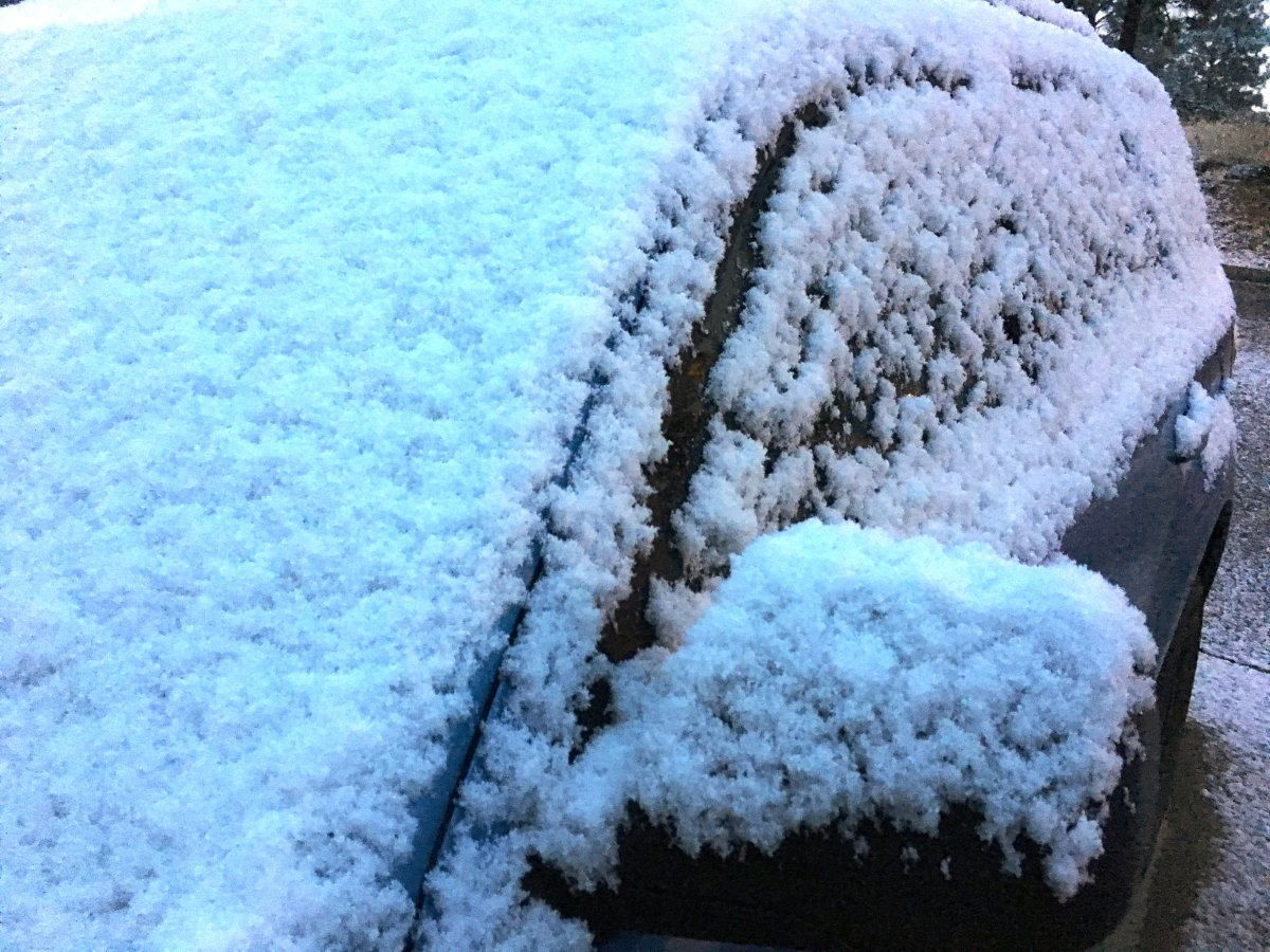 Winter weather is coming to the London region not once but twice this week.