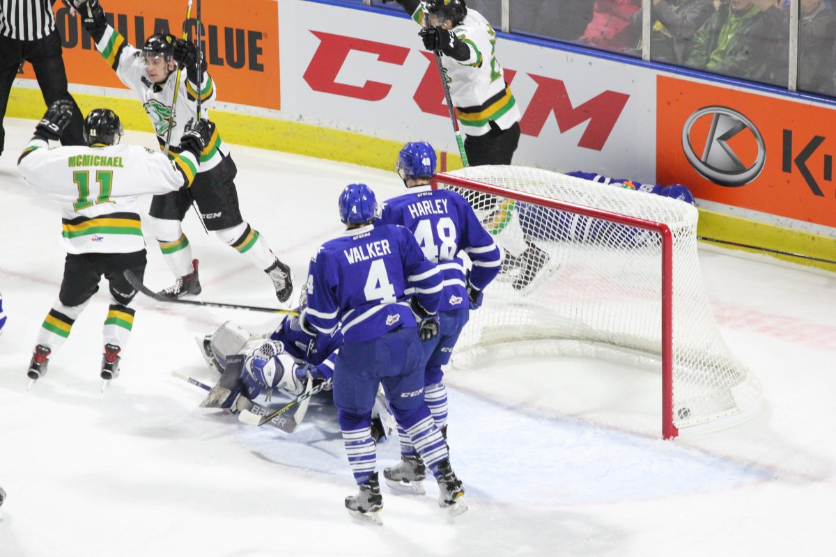 Win Over Mississauga Lifts The London Knights Winning Streak Into Double Digits London Globalnews Ca