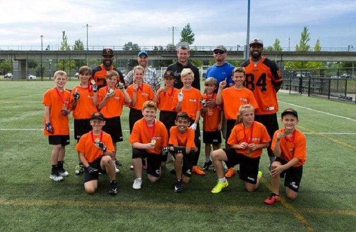 The Kelowna Junior Sun represented B.C. in the U12 division at the 10-team national youth flag championship in Edmonton on Friday. Kelowna lost in the semifinals to Montreal, finishing in a tie for third with Edmonton.