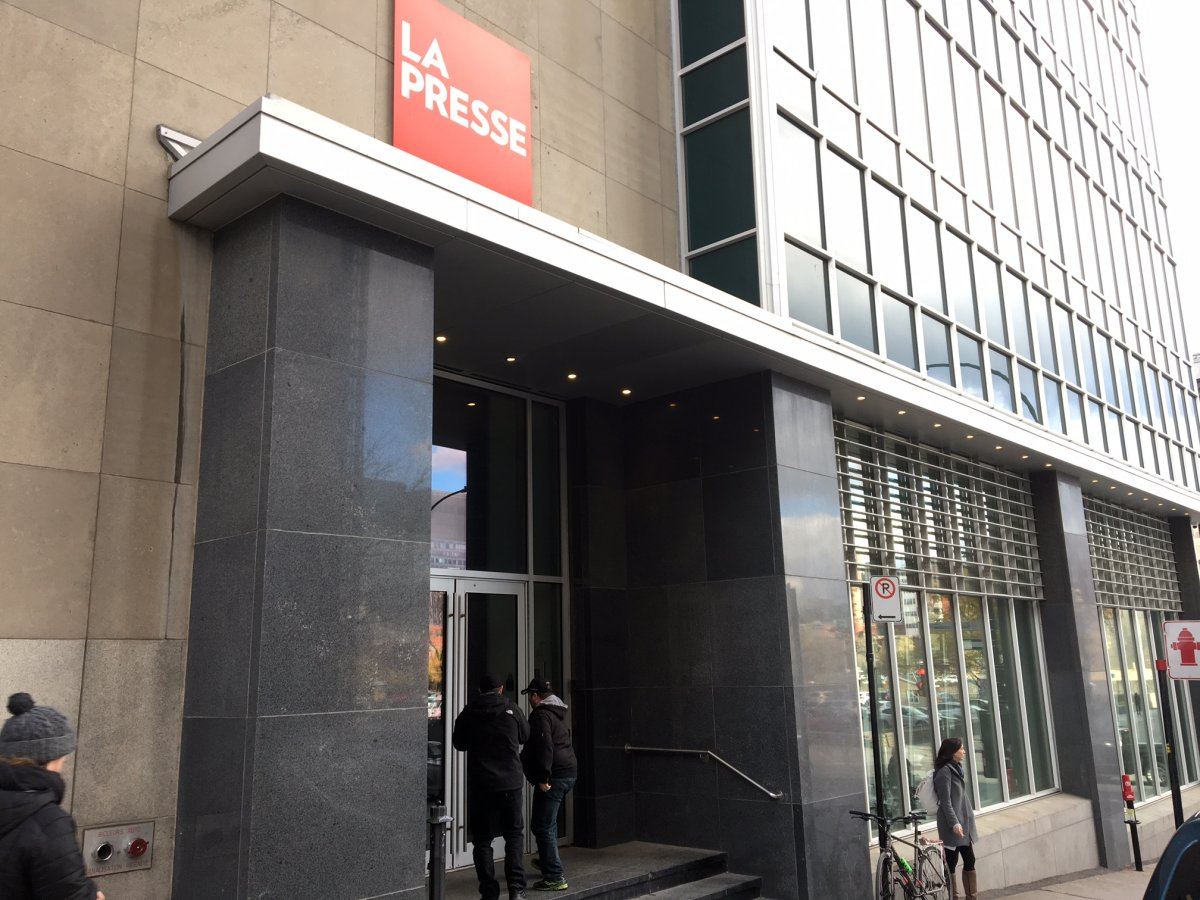 La Presse adopted a not-for-profit structure earlier this year.