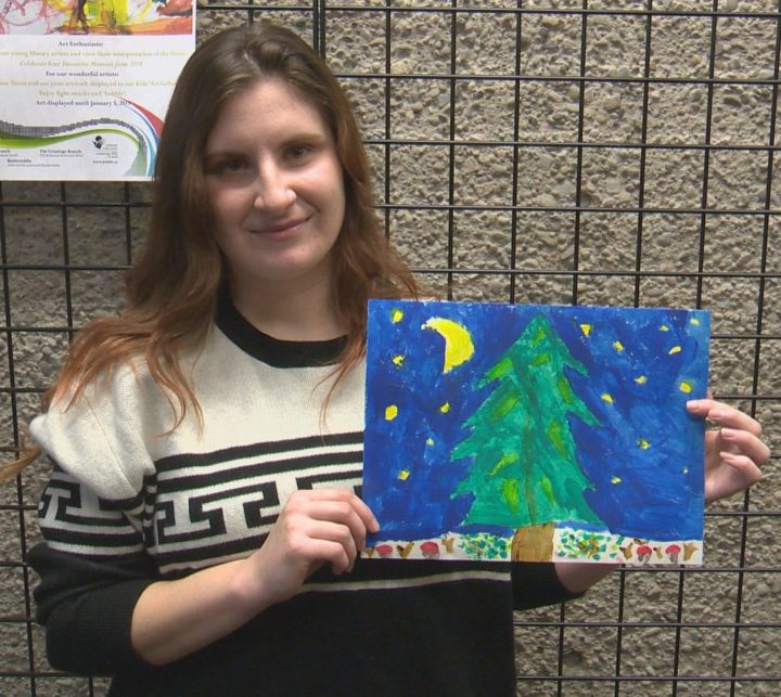 Lethbridge Public Library is asking for youths to submit their artwork for an upcoming art show.