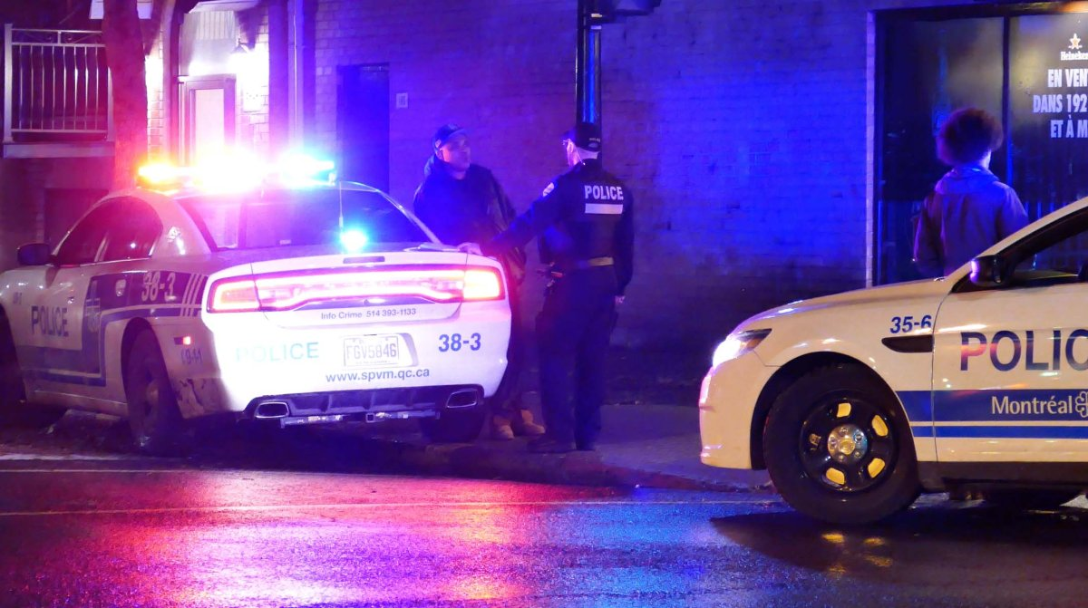 Montreal police were called to the scene of the restaurant late Tuesday.