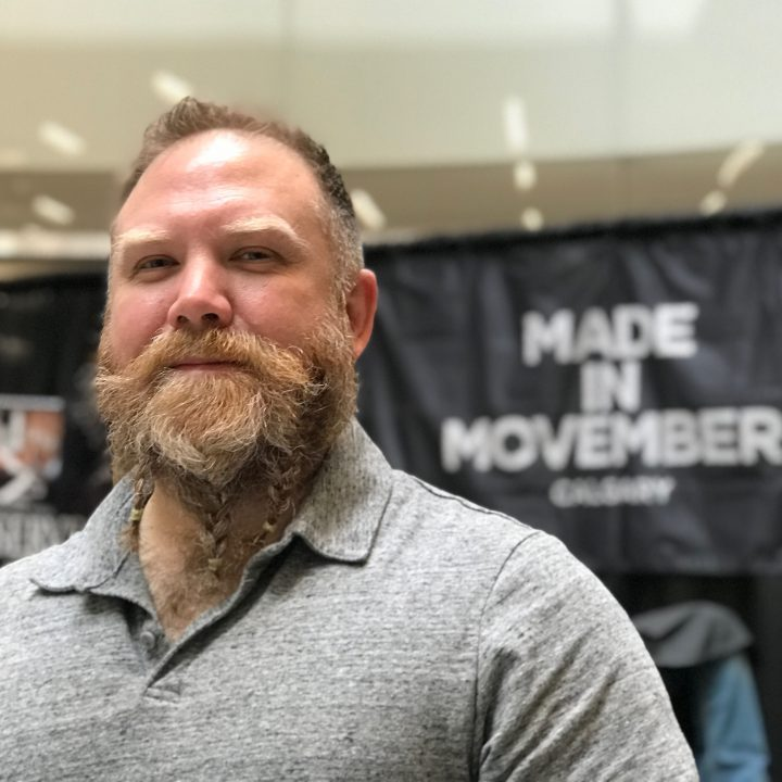 """Movember in Calgary kicked off with a """"Shavedown"""" at the Best of Seven Barbers in Bow Valley Square."""