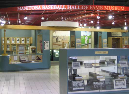 The Manitoba Baseball Hall of Fame in Morden.
