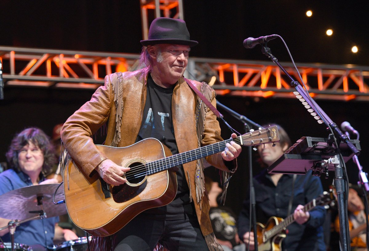 Neil Young will play two concerts in Winnipeg this February.