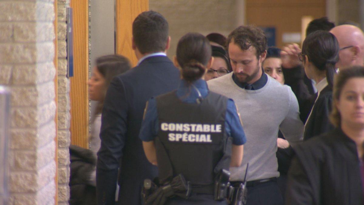 Former Sûreté du Québec officer Patrick Ouellet was sentenced to eight months in prison.