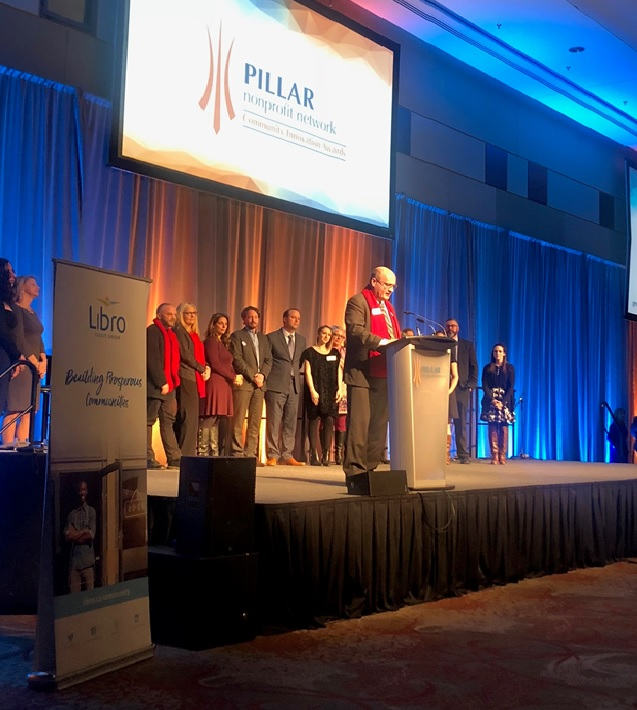 London's temporary overdose prevention site and the Grand Theatre's 100 Schools Project were among the winners at the 2018 Pillar Community Innovation Awards.