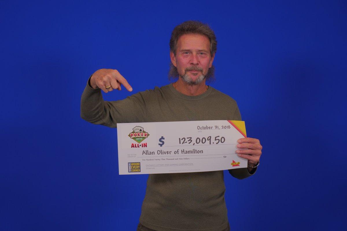 Hamilton grandfather wins Poker Lotto (All In) jackpot on Oct 30.