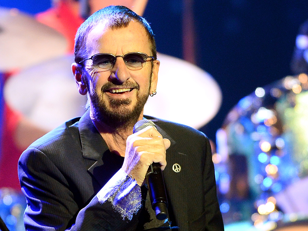 Ringo Starr performs with his All Starr Band on Nov. 22 in Las Vegas, Nev.