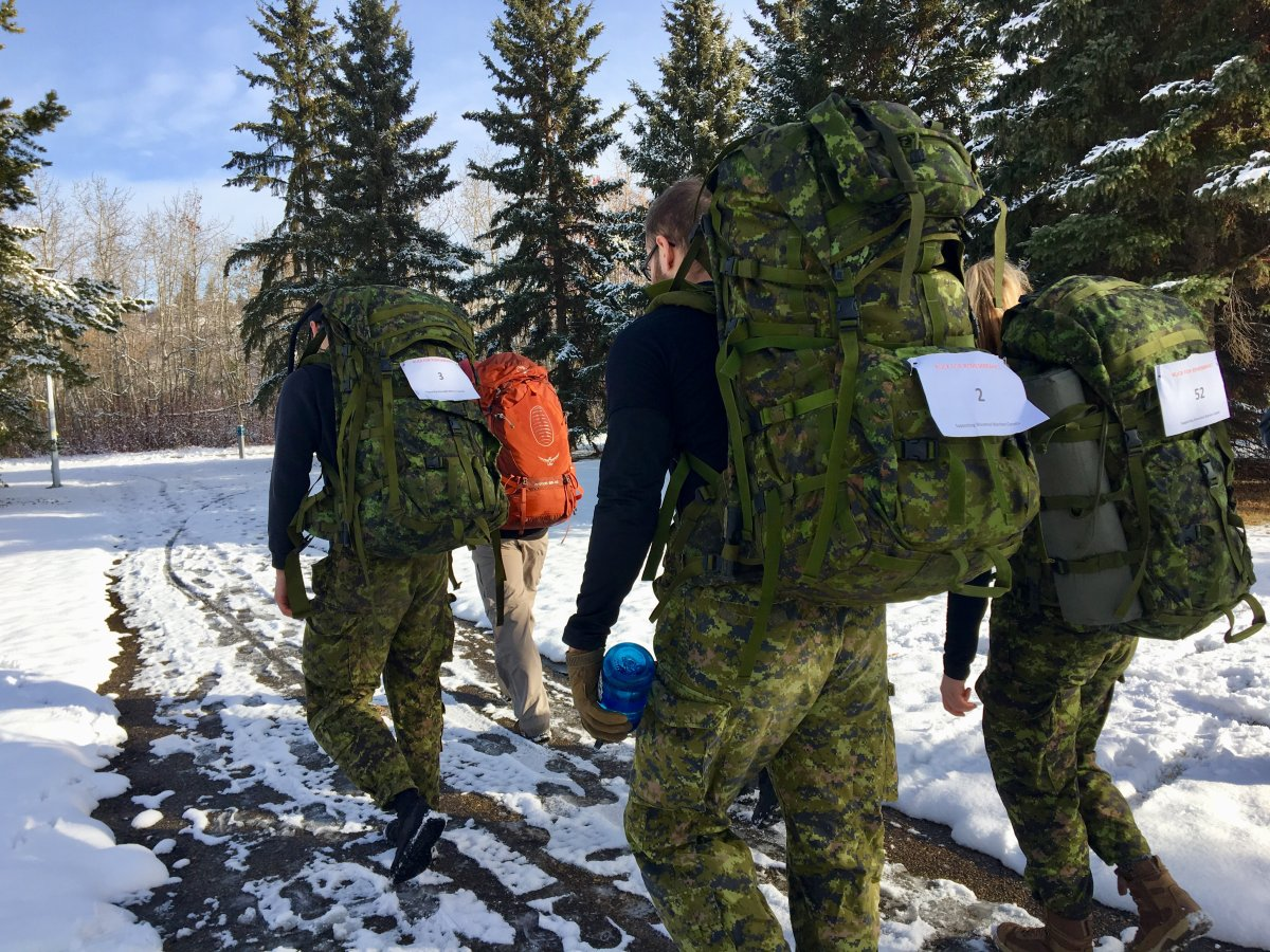 The Rucksack March for Remembrance raises awareness for mental health support programs for first responders and military personnel.