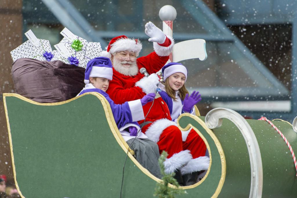 The 2020 Santa Claus parade has been cancelled.