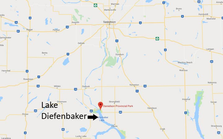 A 46-year-old man, who was scuba diving at a lake in Saskatchewan, died this past weekend.