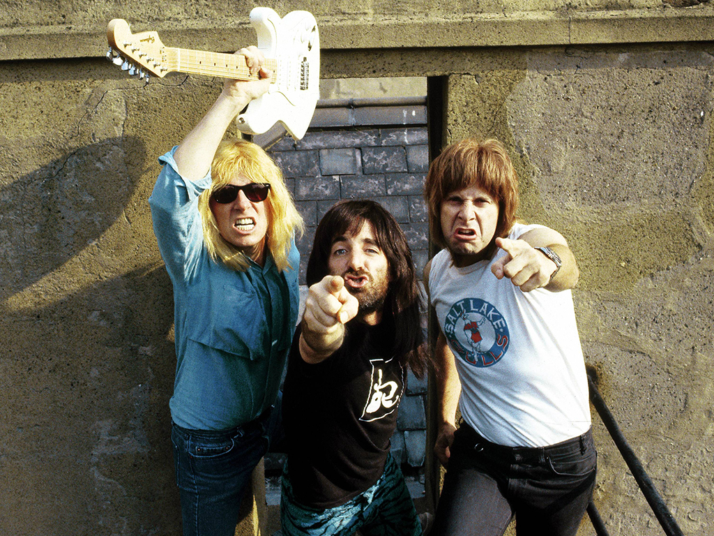 Unspecified circa 1984 photo of Spinal Tap.