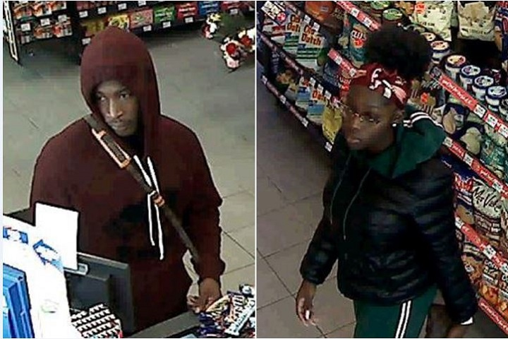 Police are seeking two suspects following an alleged theft and fraud in Richmond Hill.