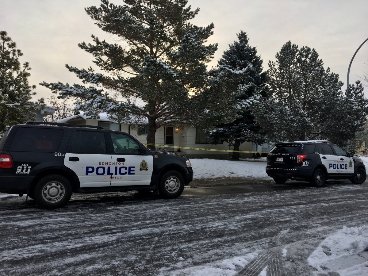 Police investigate a suspicious death in northeast Edmonton.