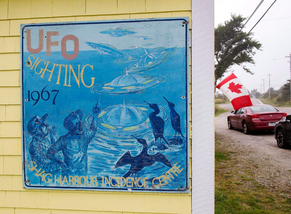 The Shag Harbour Incident Interpretive Centre is seen in Shag Harbour, N.S. on Saturday, Sept. 16, 2017. On the night of October 4, 1967, Laurie Wickens and four of his friends spotted a large object descending into the waters off the harbour. The object was never officially identified, and was therefore referred to as an unidentified flying object.